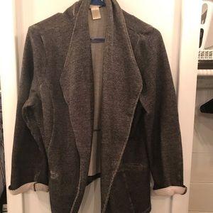 Sweatshirt Material Blazer Sz XL